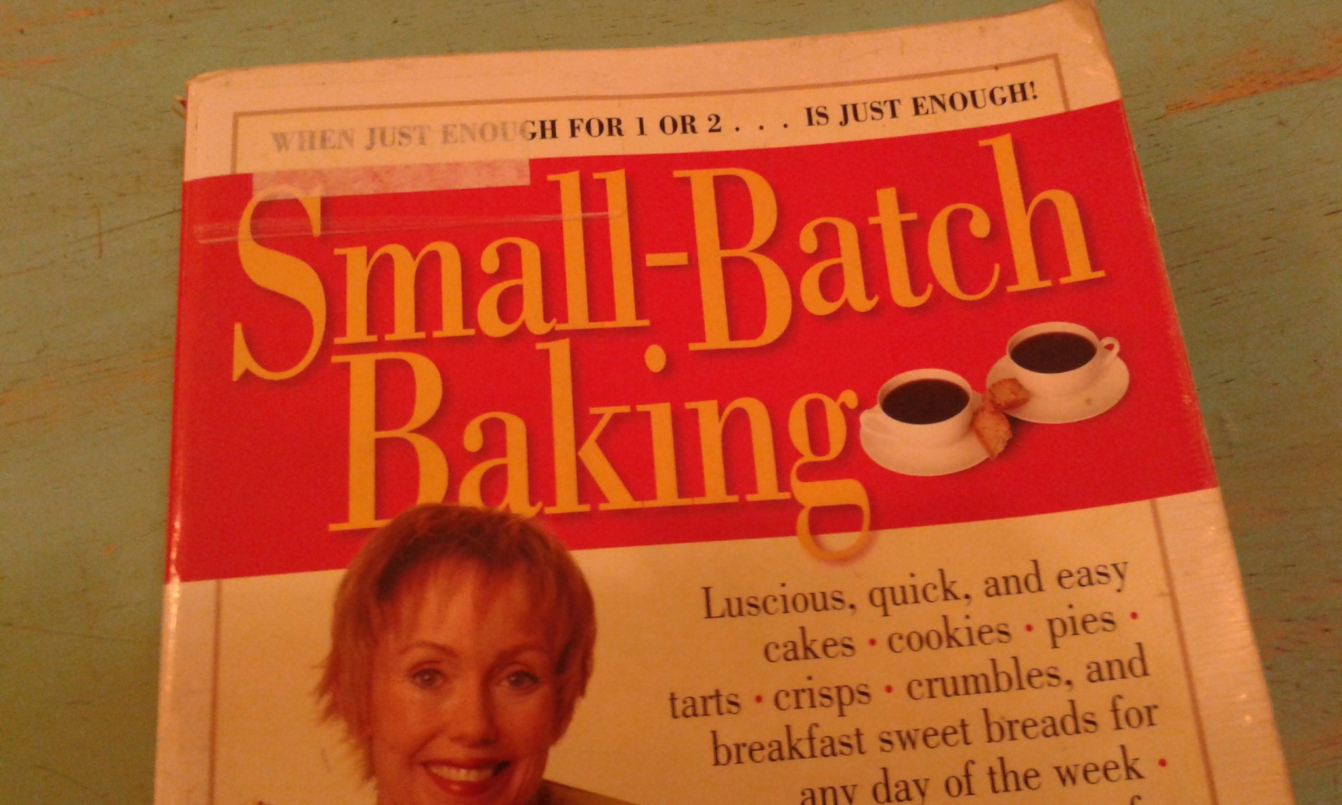 cookbook on small batch baking