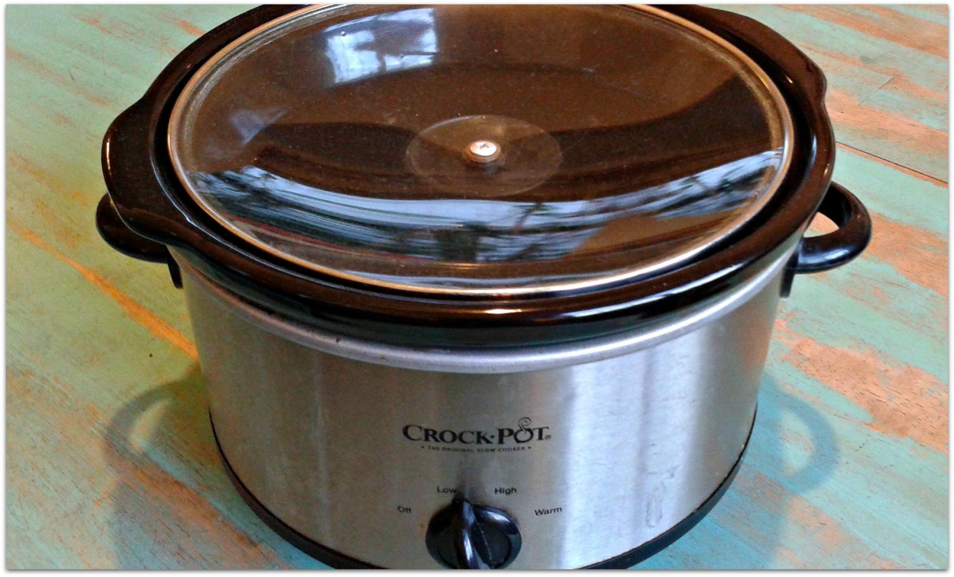 broken crock pot