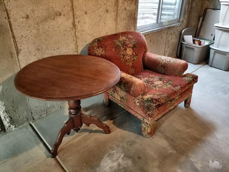 saved furniture